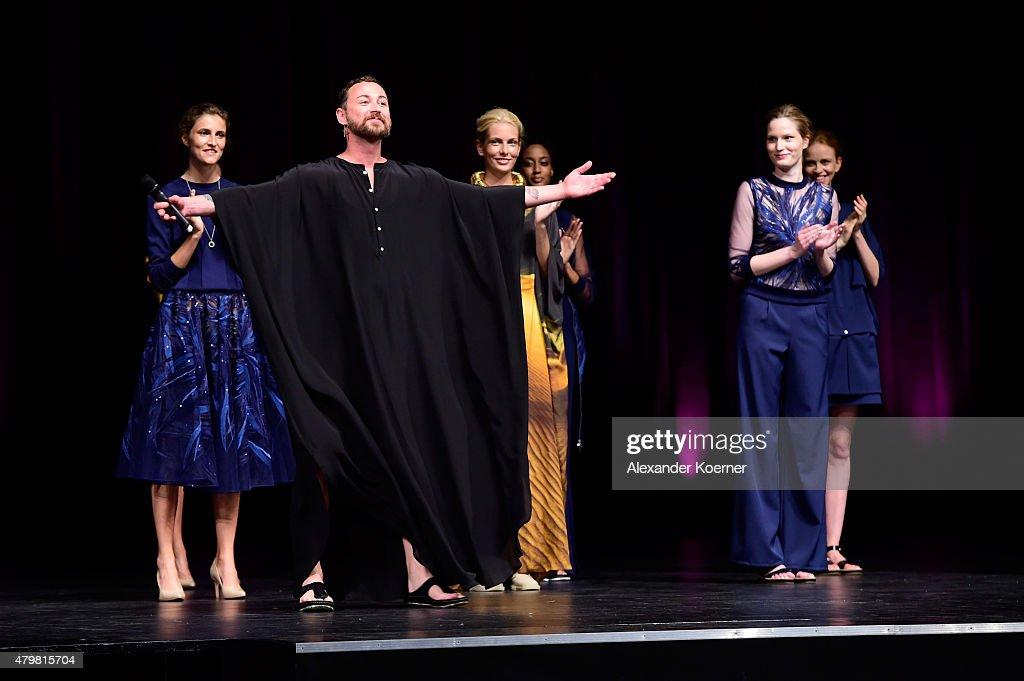Marcel Ostertag Show - Mercedes-Benz Fashion Week Berlin Spring/Summer 2016