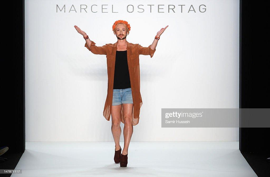 Marcel Ostertag: Runway - Mercedes-Benz Fashion Week Spring/Summer 2013