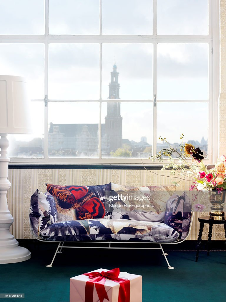 Designer Marcel Wanderss Moooi Collection Is Photographed For Madame Figaro On October 15 2014 In