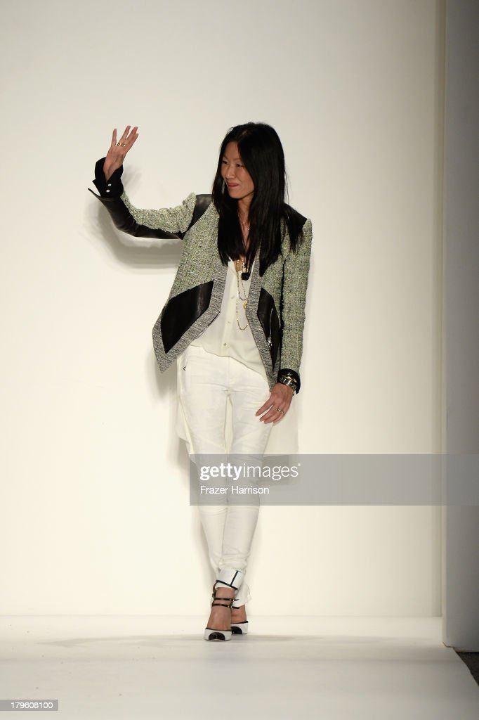 Designer Marissa Webb walks the runway during the Marissa Webb Spring 2014 fashion show at Mercedes-Benz Fashion Week Spring 2014 - Official Coverage - Best Of Runway Day 1 on September 5, 2013 in New York City.