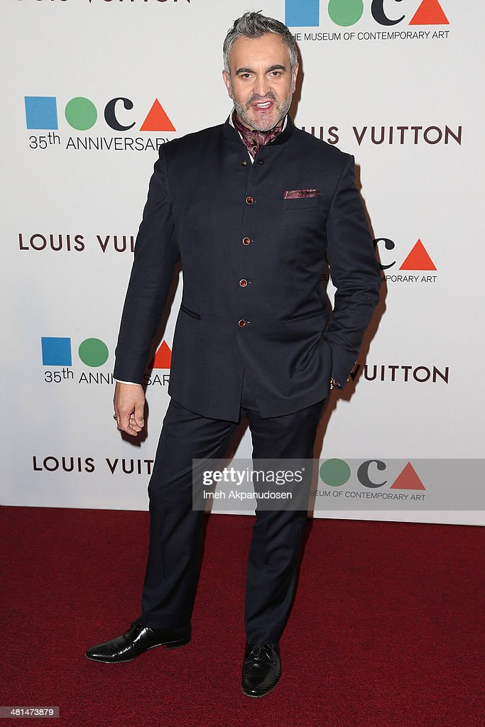 Designer Martyn Lawrence Bullard attends The Museum Of Contemporary Art, Los Angeles, Celebrates 35th Anniversary Gala Presented By Louis Vuitton at The Geffen Contemporary at MOCA on March 29, 2014 in Los Angeles, California.