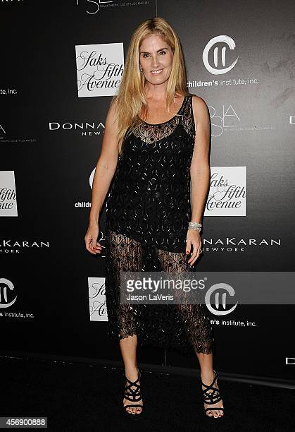 Designer Mary Alice Haney attends the 5th annual PSLA Autumn Party at 3LABS on October 8 2014 in Culver City California