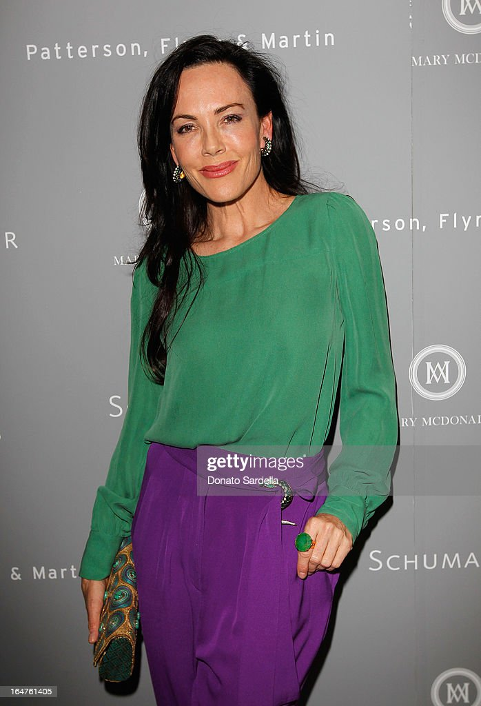 Designer Mary McDonald entertains guests in celebration of her exclusive collection for Schumacher And Paterson, Flynn & Martin at Sunset Tower on March 27, 2013 in West Hollywood, California.