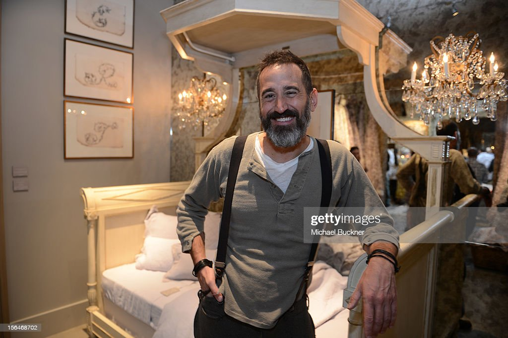 Designer Matthew Lenoci attends the Restoration Hardware Baby And Child Gallery Opening at Third Street Promenade on November 10, 2012 in Santa Monica, California.