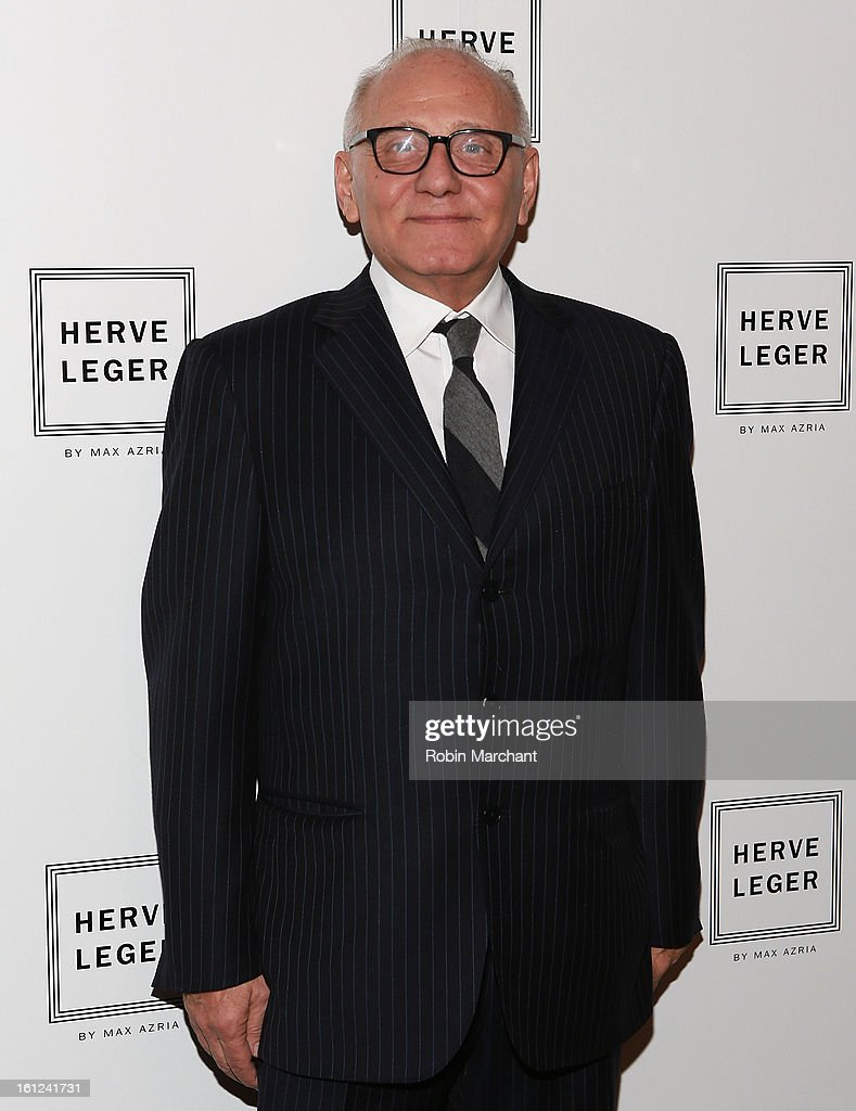Designer Max Azria attends Herve Leger By Max Azria during Fall 2013 Mercedes-Benz Fashion Week at The Theatre at Lincoln Center on February 9, 2013 in New York City.