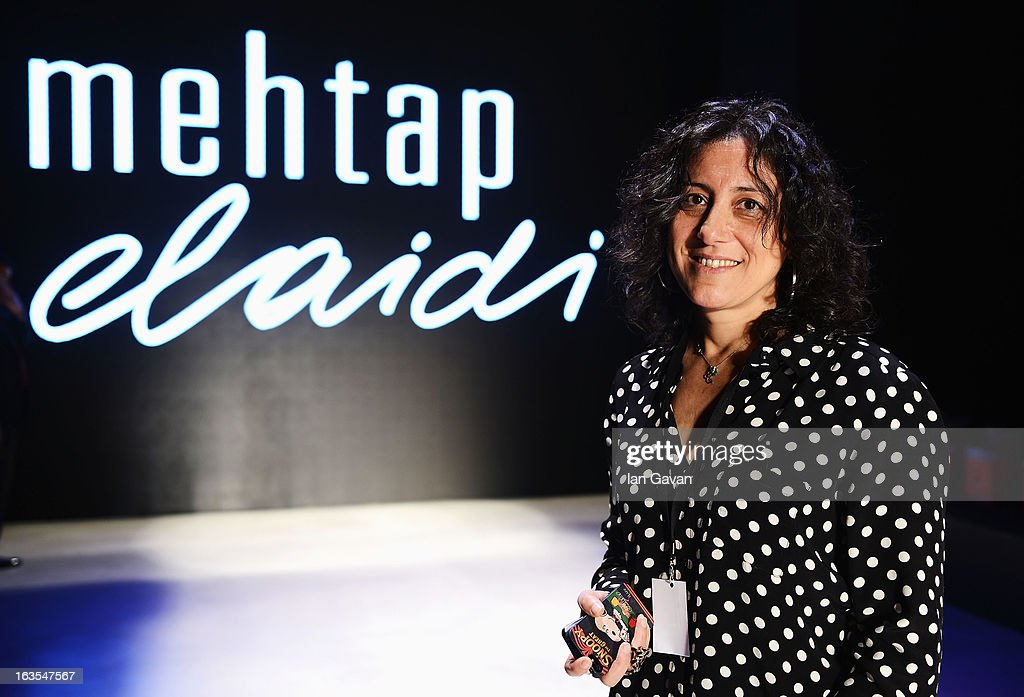 Designer Mehtap Elaidi ahead of her show during Mercedes-Benz Fashion Week Istanbul Fall/Winter 2013/14 at Antrepo 3 on March 12, 2013 in Istanbul, Turkey.