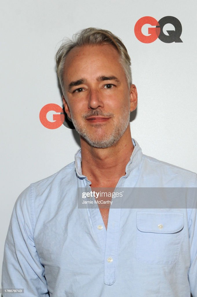 Designer <a gi-track='captionPersonalityLinkClicked' href=/galleries/search?phrase=Michael+Bastian+-+Fashion+Designer&family=editorial&specificpeople=13857193 ng-click='$event.stopPropagation()'>Michael Bastian</a> attends the GQ 'What To Wear Now' Special Issue Party at The Highline Hotel on August 15, 2013 in New York City.