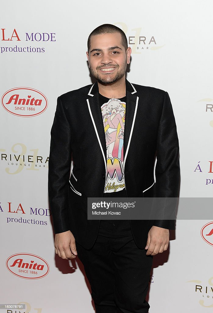 Designer Michael Costello arrives for A la mode Productions Presents Designers Night Out at Sofitel Hotel on October 3, 2013 in Los Angeles, California.
