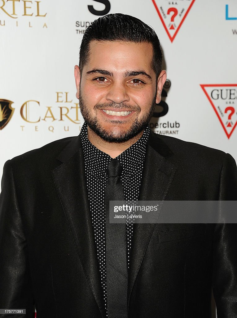 Designer Michael Costello attends the 'America's Next Top Model' 20th cycle gala celebration at SupperClub Los Angeles on August 7, 2013 in Los Angeles, California.