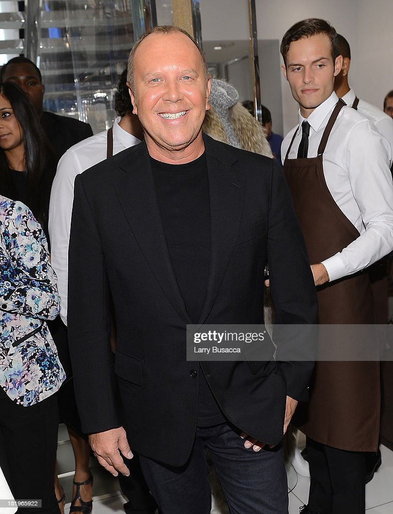 Designer Michael Kors attends Kors Collaborations: Claiborne Swanson Frank on September 13, 2012 in New York City.