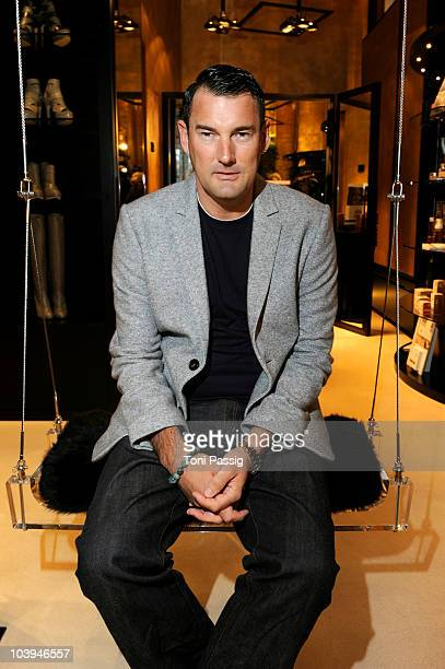 Designer Michael Michalsky attends the Michalsky Gallery Celebrates Vogue Fashion's Night Out on September 9 2010 in Berlin Germany
