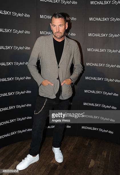 Designer Michael Michalsky attends the MICHALSKY StyleNite 2015 at Ritz Carlton on July 10 2015 in Berlin Germany