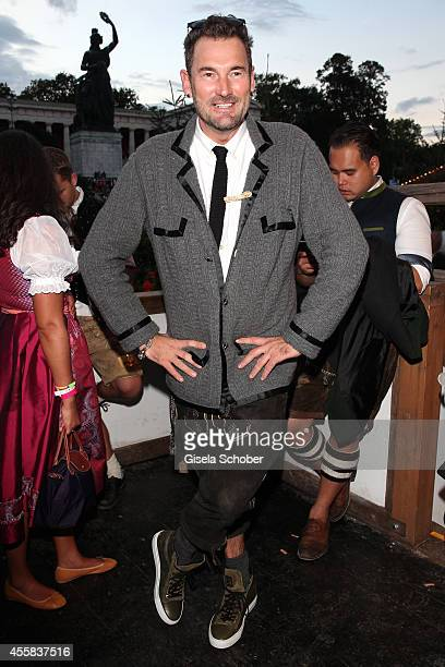 Designer Michael Michalsky during the Oktoberfest Opening in Kaeferzelt at Theresienwiese on September 20 2014 in Munich Germany