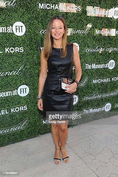 Designer Michelle SMith attends attends The Couture Council of The Museum at the Fashion Institute of Technology hosted luncheon honoring Michael...
