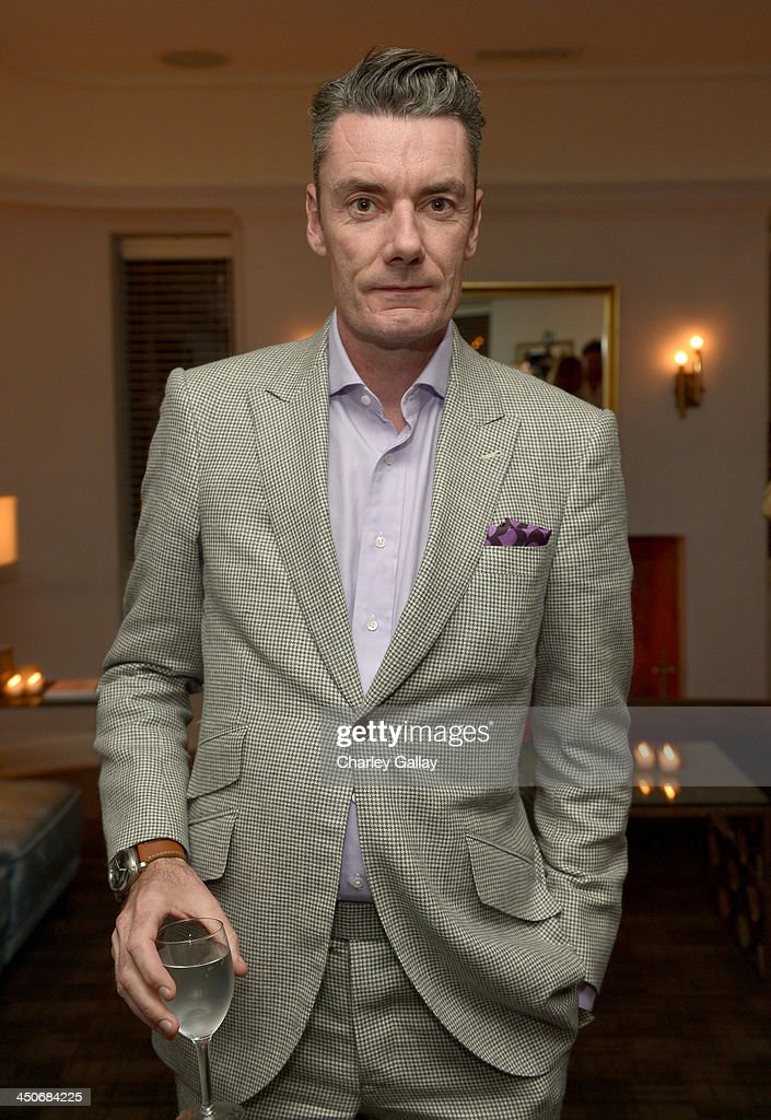 Designer Miles Siggins attends the launch celebration of the Banana Republic L'Wren Scott Collection hosted by Banana Republic, L'Wren Scott and Krista Smith at Chateau Marmont on November 19, 2013 in Los Angeles, California.