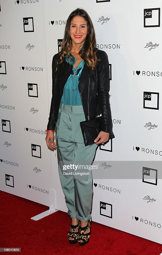 Designer Minnie Mortimer attends the 'I Heart Ronson' Collection and jcpenney celebration at The Bungalow on December 11, 2012 in Santa Monica, California.