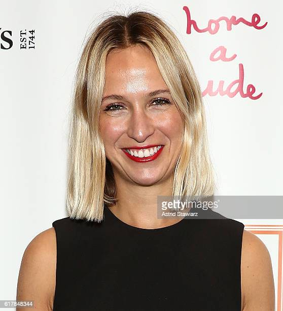 Designer Misha Nonoo attends Take Home A Nude Benefiting New York Academy Of Art at Sotheby's on October 24 2016 in New York City