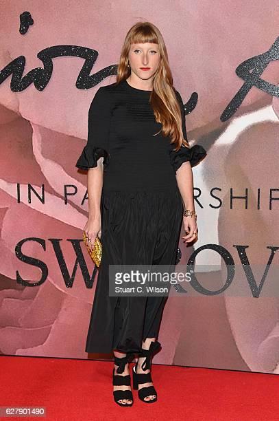 Designer Molly Goddard attends The Fashion Awards 2016 on December 5 2016 in London United Kingdom