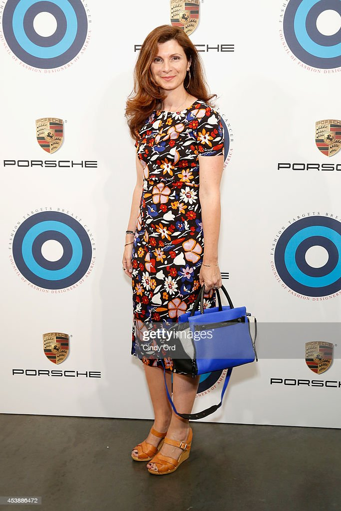 Designer Monica Botkier attends the CFDA Celebrates Fashion Targets Breast Cancer 20th Anniversary event with Maria Sharapova, presented by Porsche at The New Museum on August 20, 2014 in New York City.