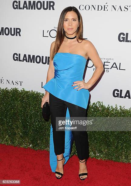 Designer Monique Lhuillier arrives at Glamour Women Of The Year 2016 at NeueHouse Hollywood on November 14 2016 in Los Angeles California