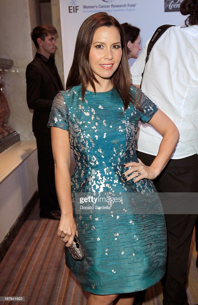 """Designer Monique Lhuillier attends EIF Women's Cancer Research Fund's 16th Annual """"An Unforgettable Evening"""" presented by Saks Fifth Avenue at the Beverly Wilshire Four Seasons Hotel on May 2, 2013 in Beverly Hills, California."""