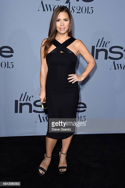 Designer Monique Lhuillier attends the InStyle Awards at Getty Center on October 26 2015 in Los Angeles California