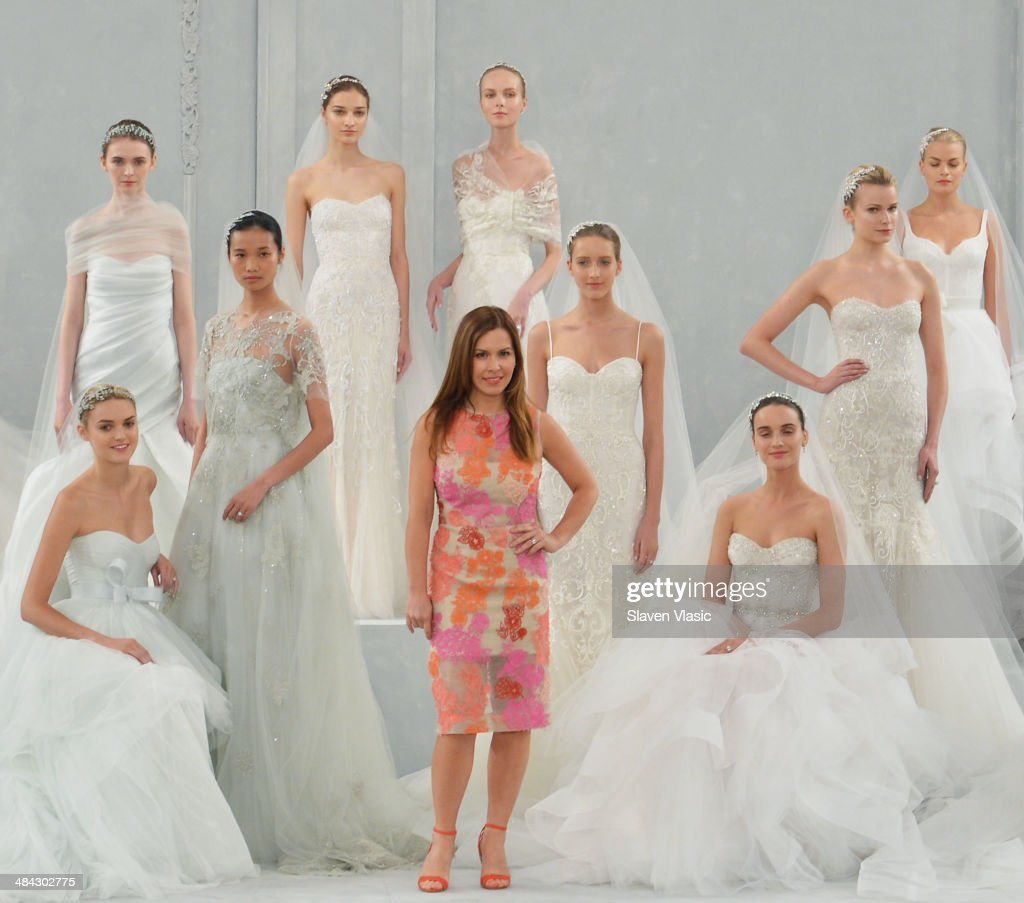Spring 2015 bridal collection monique lhuillier show for Monique lhuillier bridal designers