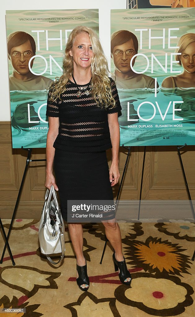 Designer Nanette Lepore attends 'The One I Love' New York Screening at the Crosby Street Theater on August 5, 2014 in New York City.