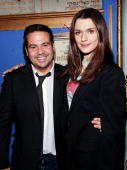 Designer Narcisco Rodriguez and actress Rachel Weisz attend the 2009 Blue School fundraising gala at The Angel Orensanz Foundation on April 2 2009 in...