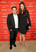 Designer Narciso Rodriguez and actress Katie Holmes attend Narciso Rodriguez Kohl's Collection Launch Party at IAC Building on October 22 2012 in New...