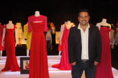 Designer Narciso Rodriguez attends his 'Retrospective' exhibition to benefit 'Alas a La Mujer' on November 10 2009 at the Caribe Hilton Hotel in San...