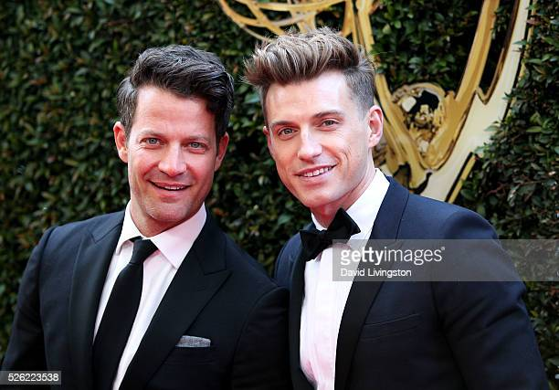 Designer Nate Berkus and Jeremiah Brent attend the 43rd Annual Daytime Creative Arts Emmy Awards at Westin Bonaventure Hotel on April 29 2016 in Los...