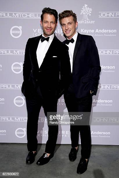 Designer Nate Berkus and Jeremiah Brent attend the Fifth Annual Baby2Baby Gala Presented By John Paul Mitchell Systems at 3LABS on November 12 2016...