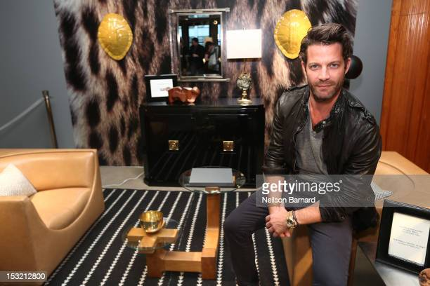 Designer Nate Berkus attends New York Magazine and Dwell celebration of the opening of City Modern on October 1 2012 in New York City
