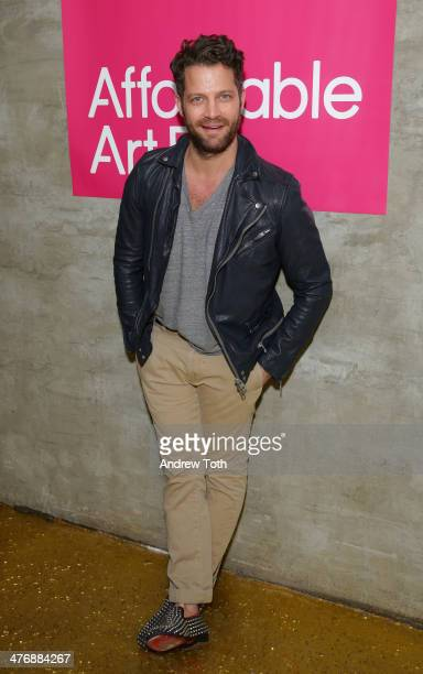 Designer Nate Berkus attends the 15th Affordable Art Fair at Gilded Lily on March 5 2014 in New York City