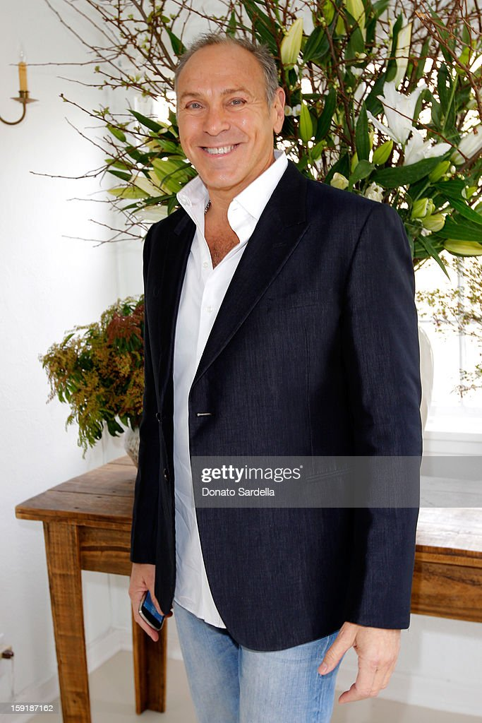 Designer Neil Lane attends a luncheon for Francesca Eastwood, Miss Golden Globe 2013, hosted by LoveGold and held at Chateau Marmont on January 9, 2013 in Los Angeles, California.