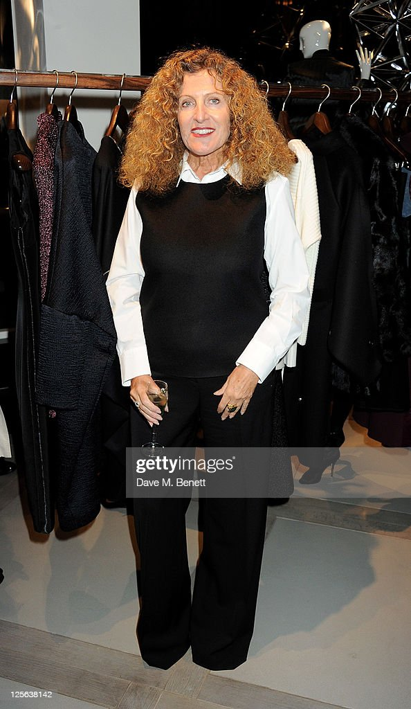 Designer Nicole Farhi attends the opening of the her global flagship store on September 19, 2011 in London, England.