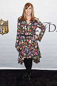 Designer Nicole Miller attends as the NFL Unveils Super Bowl 50 Bespoke Designer Footballs in collaboration with CFDA at NFL Headquarters on January...