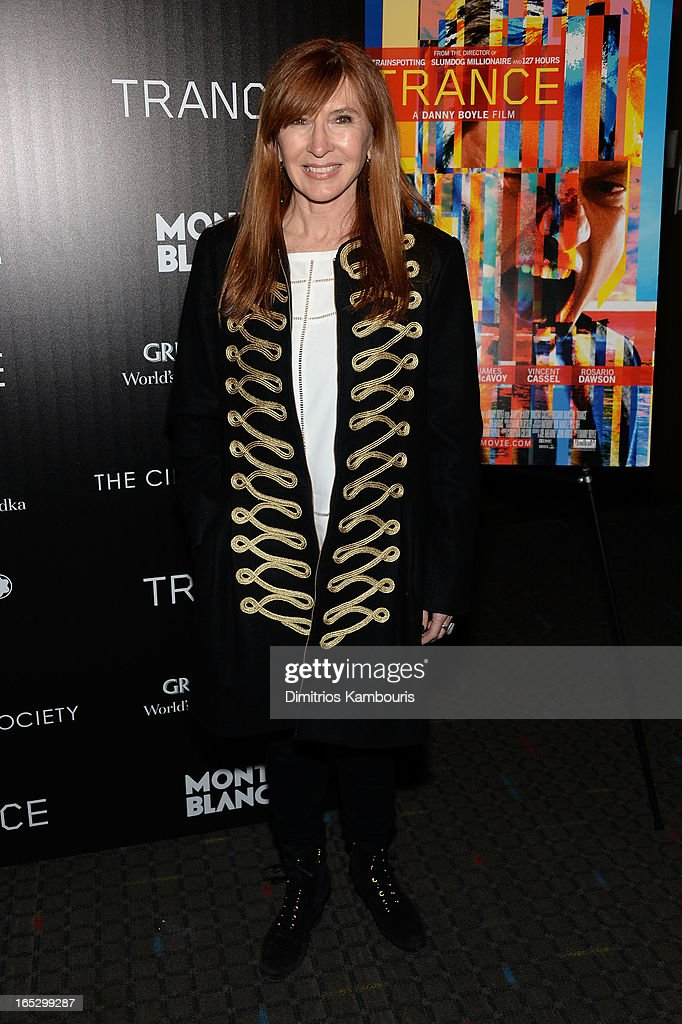 Designer Nicole Miller attends Fox Searchlight Pictures' premiere of 'Trance' hosted by the Cinema Society & Montblanc at SVA Theater on April 2, 2013 in New York City.