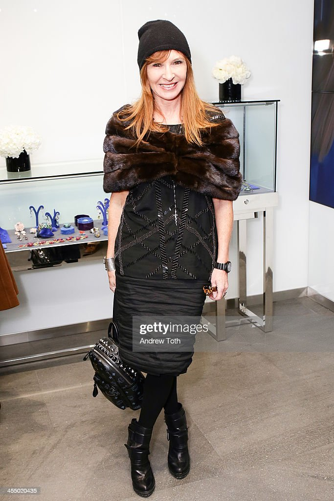 Designer Nicole Miller attends the Dennis Basso Store Opening at Dennis Basso Store on December 10, 2013 in New York City.
