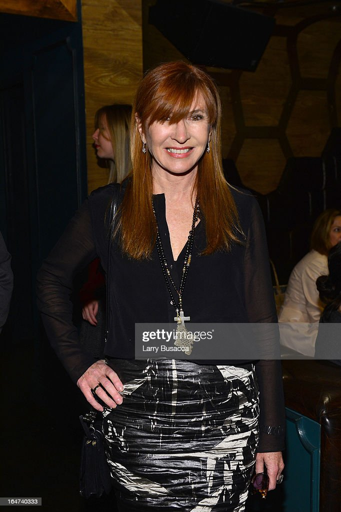 Designer Nicole Miller attends the DuJour Magazine Spring 2013 Issue Celebration at The Darby on March 27, 2013 in New York City.