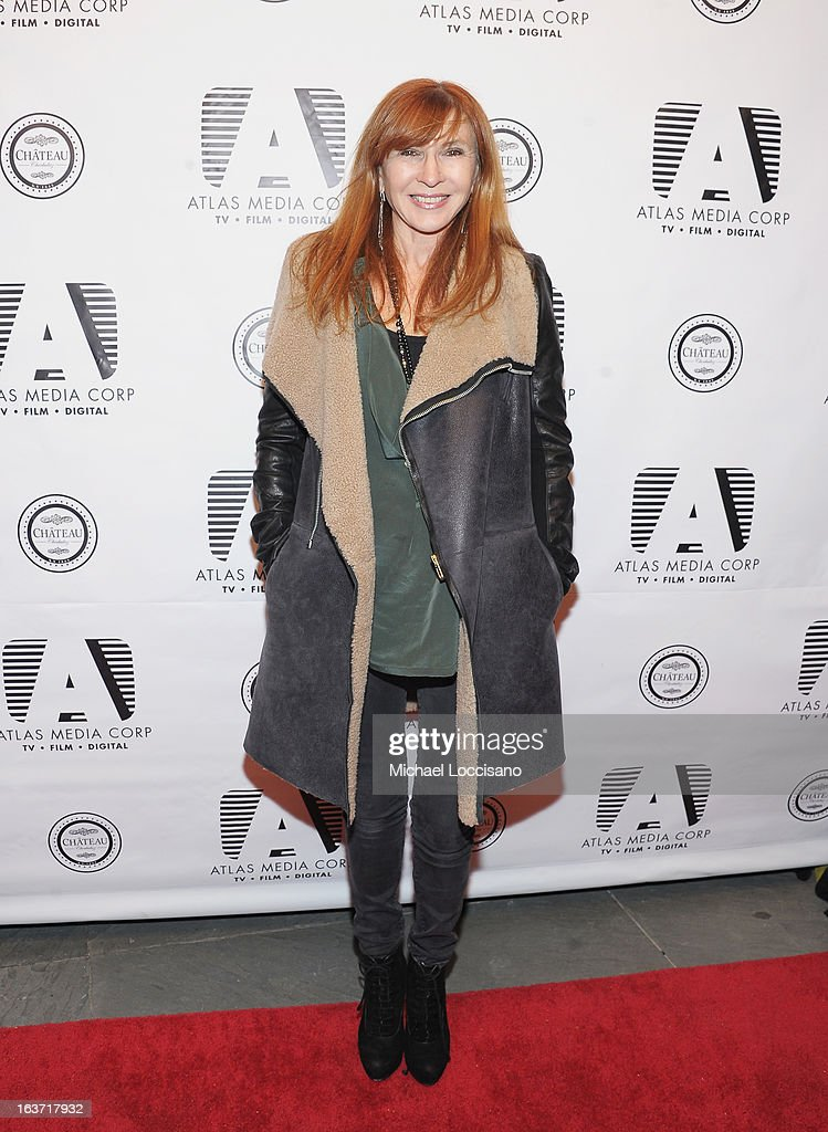 Designer Nicole Miller attends the 'Playing With Fire' premiere at Chateau Cherbuliez on March 14, 2013 in New York City.