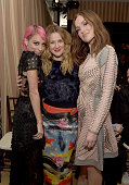 Designer Nicole Richie actresses Drew Barrymore and Minka Kelly attend The DAILY FRONT ROW 'Fashion Los Angeles Awards' Show at Sunset Tower on...