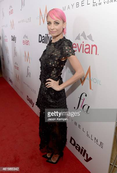 Designer Nicole Richie attends The DAILY FRONT ROW 'Fashion Los Angeles Awards' Show at Sunset Tower on January 22 2015 in West Hollywood California