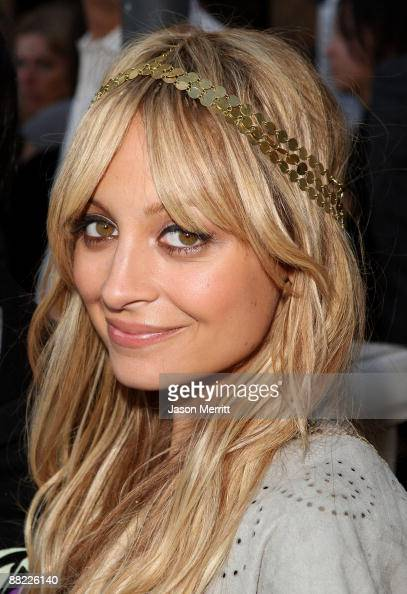 Designer Nicole Richie attends the House of Harlow Clandestine Industries and Switch Boutique Fashion Show held at Boulevard3 on June 4 2009 in...