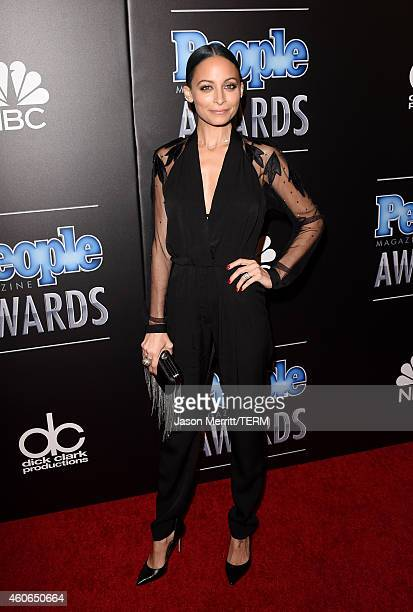 Designer Nicole Richie attends the PEOPLE Magazine Awards at The Beverly Hilton Hotel on December 18 2014 in Beverly Hills California