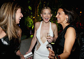 Designer Nina Garcia actress Kate Hudson and ___ attend The Weinstein Company Netflix's 2015 Golden Globes After Party presented by FIJI Water Lexus...