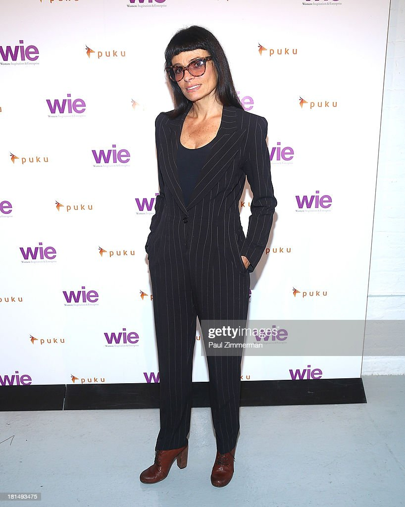 Designer Norma Kamali attends the 4th Annual WIE Symposium at Center 548 on September 21, 2013 in New York City.
