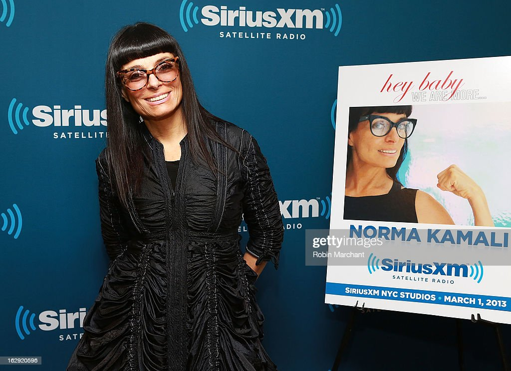 Designer Norma Kamali hosts 'Hey Baby' on SiriusXM on March 1, 2013 at SiriusXM studios in New York City