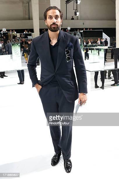 Designer of perfumes Byredo Ben Gorham attends Dior Homme Menswear Spring/Summer 2014 Show as part of the Paris Fashion Week on June 29 2013 in Paris...